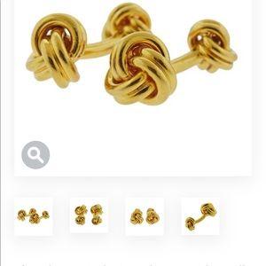 Tiffany & Co. Gold Cuff Links